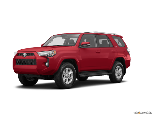 2016 Toyota 4Runner in Barcelona Red Metallic