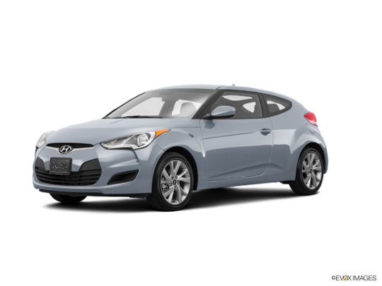 2016 Hyundai Veloster in Ironman Silver