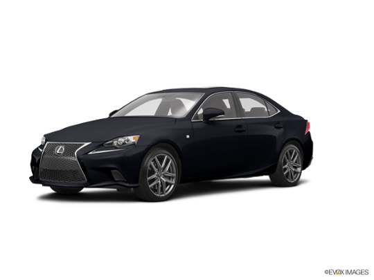 2016 Lexus IS 350 in Obsidian