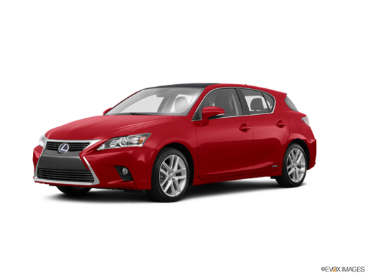 2016 Lexus CT 200h in Redline w/Black Roof