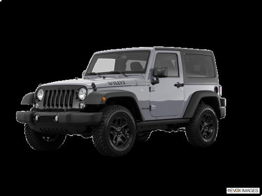 2016 Jeep Wrangler in Billet Silver Metallic Clearcoat