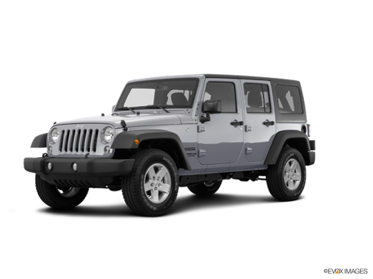 2016 Jeep Wrangler Unlimited in Billet Silver Metallic Clearcoat