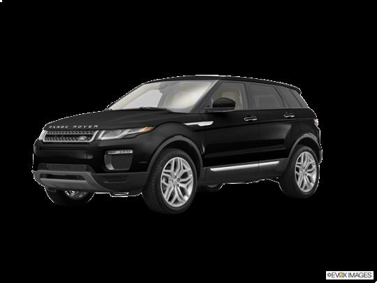 2016 Land Rover Range Rover Evoque in Santorini Black Metallic