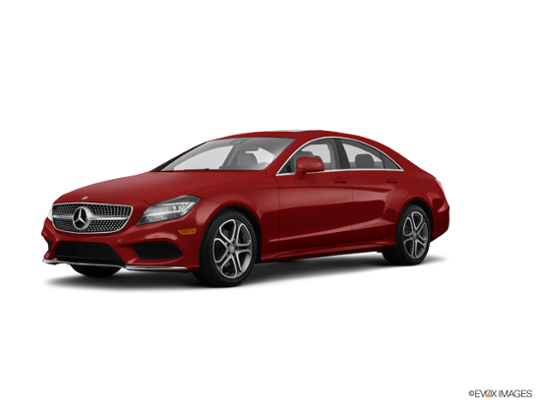 2016 Mercedes-Benz CLS in designo Cardinal Red Metallic