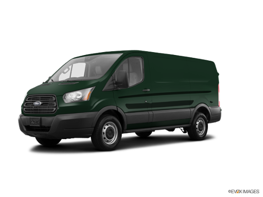 2016 Ford Transit Cargo Van in Green Gem Metallic