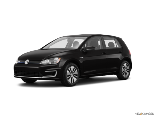 2016 Volkswagen e-Golf in Deep Black Pearl