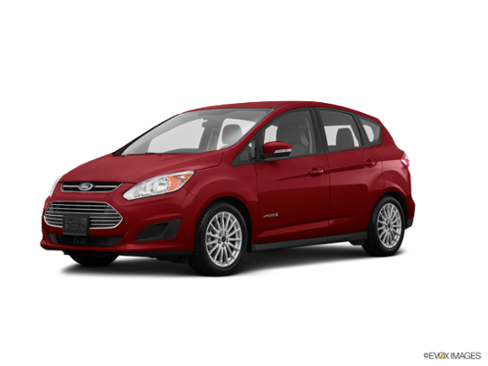 2016 Ford C-Max Hybrid in Ruby Red Metallic Tinted Clearcoat
