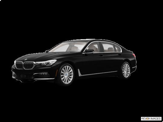 2016 BMW 740i in Jet Black