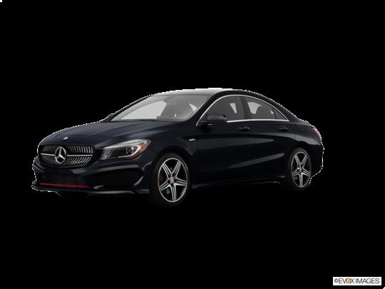 2016 Mercedes-Benz CLA in Night Black