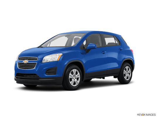 2016 Chevrolet Trax in Brilliant Blue Metallic