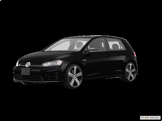 2016 Volkswagen Golf R in Deep Black Pearl