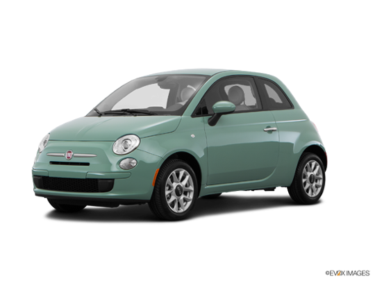 2016 FIAT 500 in Verde Chiaro (Light Green)