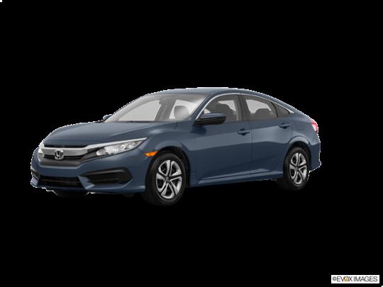 2016 Honda Civic Sedan in Cosmic Blue Metallic