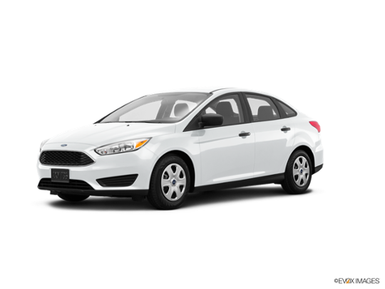 2016 Ford Focus in Oxford White