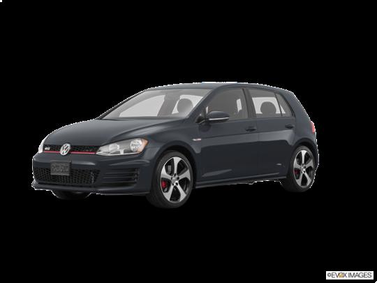 2016 Volkswagen Golf GTI in Carbon Steel Gray Metallic