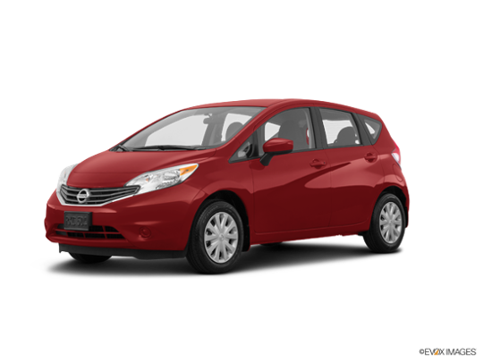 2016 Nissan Versa Note in Cayenne Red