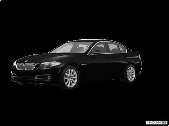 2016 BMW 550i in Jet Black