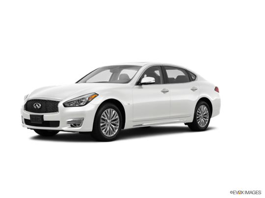 2016 INFINITI Q70L in Majestic White