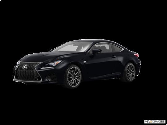 2016 Lexus RC F in Obsidian