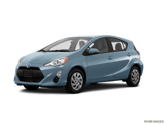 2016 Toyota Prius c in Sparkling Sea Metallic