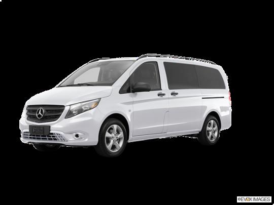 2016 Mercedes-Benz Metris Passenger Van in Mountain Crystal White Metallic