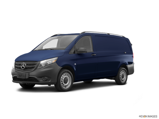 2016 Mercedes-Benz Metris Cargo Van in Cavansite Blue Metallic