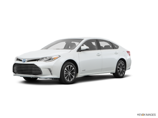 2016 Toyota Avalon Hybrid in Blizzard Pearl