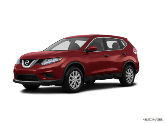 2016 Nissan Rogue in Cayenne Red