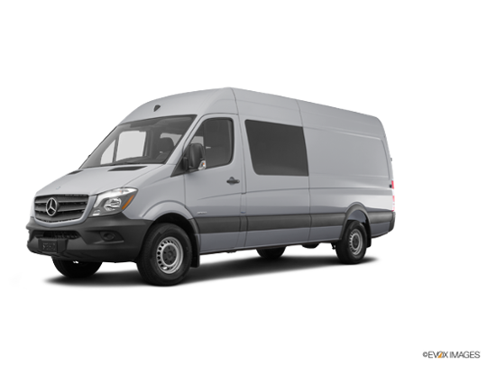 2016 Mercedes-Benz Sprinter Crew Vans in Pearl Silver Metallic