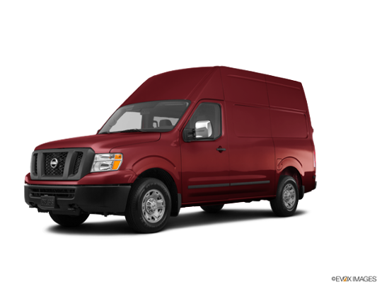 2016 Nissan NV in Cayenne Red