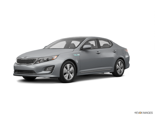 2016 Kia Optima Hybrid in Aluminum Silver