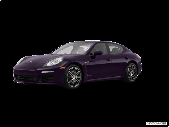 2016 Porsche Panamera in Amethyst Metallic