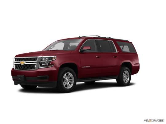 2016 Chevrolet Suburban in Siren Red Tintcoat