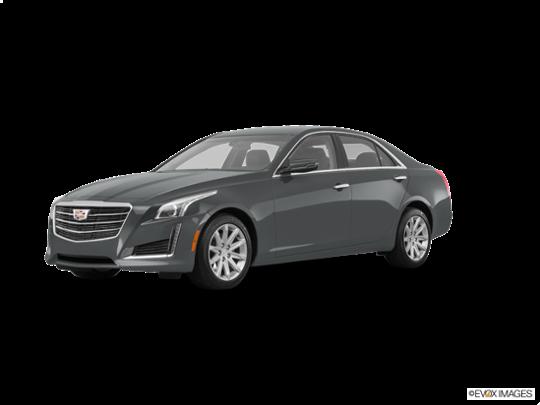 2016 Cadillac CTS Sedan in Moonstone Metallic