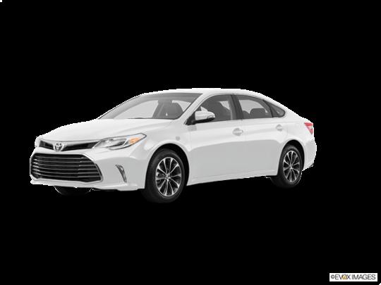 2016 Toyota Avalon in Blizzard Pearl
