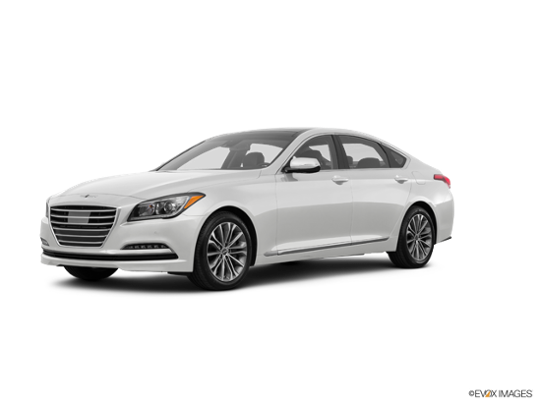 2016 Hyundai Genesis in Casablanca White