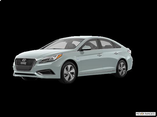 2016 Hyundai Sonata Plug-In Hybrid in Seaport Mist