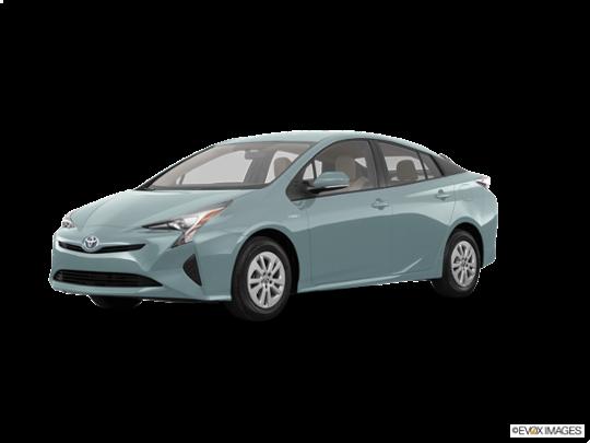 2016 Toyota Prius in Sea Glass Pearl