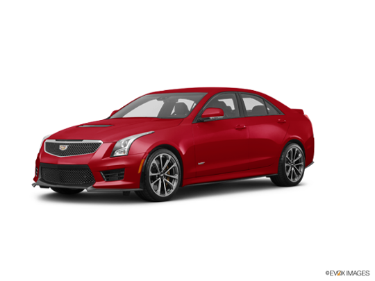 2016 Cadillac ATS-V Sedan in Red Obsession Tintcoat