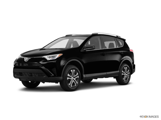 2016 Toyota RAV4 in Black