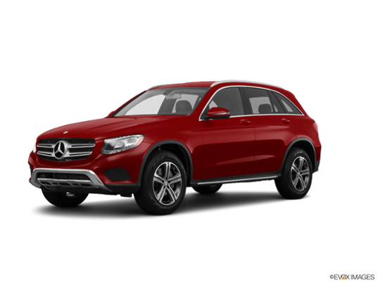 2016 Mercedes-Benz GLC in designo Cardinal Red Metallic
