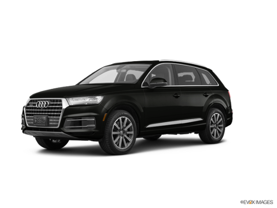 2017 Audi Q7 in Night Black