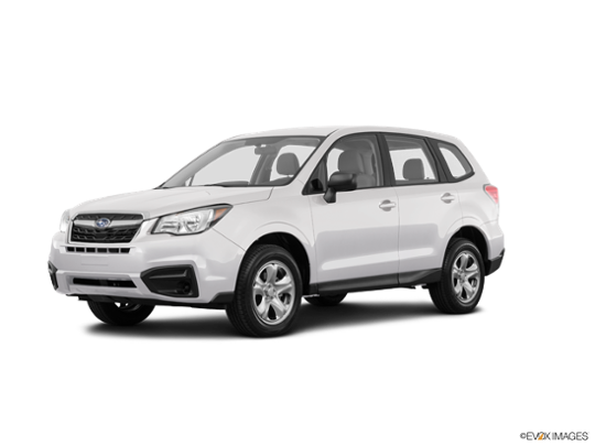2017 Subaru Forester in Crystal White Pearl