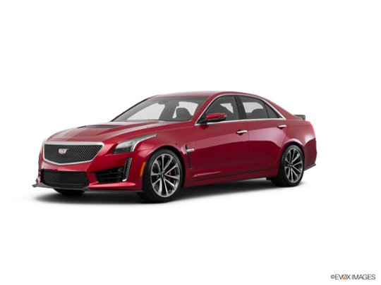 2016 Cadillac CTS-V Sedan in Red Obsession Tintcoat