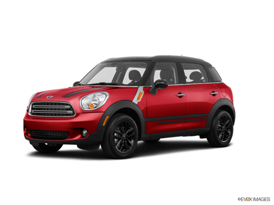 2016 MINI Cooper S Countryman in Chili Red