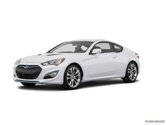 2016 Hyundai Genesis Coupe in Casablanca White Pearl