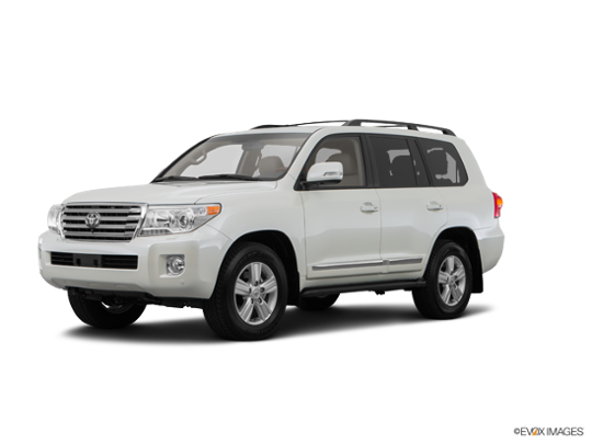 2016 Toyota Land Cruiser in Blizzard Pearl