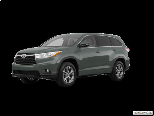 2016 Toyota Highlander in Alumina Jade Metallic