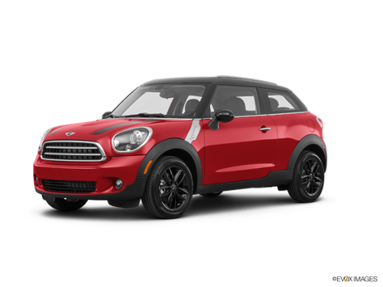 2016 MINI John Cooper Works Paceman ALL4 in Chili Red