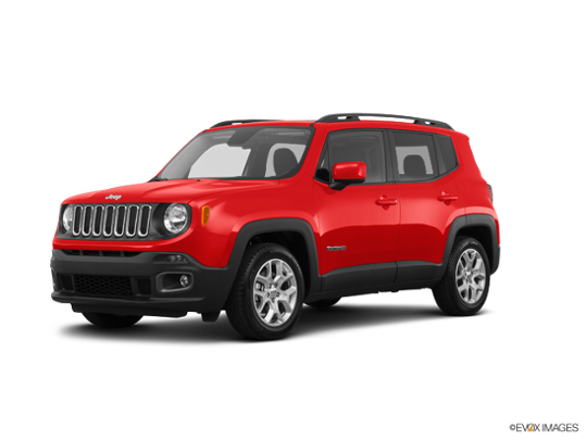 2016 Jeep Renegade in Colorado Red